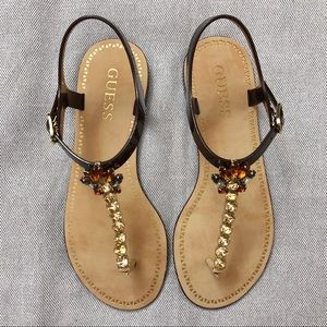 Guess Sandals Size 8